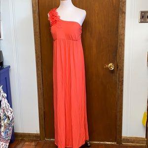 One strap floral detail summer dress